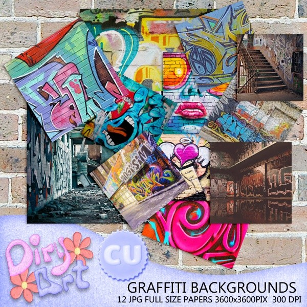 * Graffiti Backgrounds *