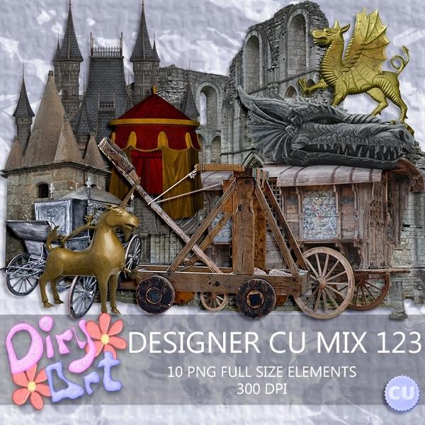 * Designer CU Mix 123 *