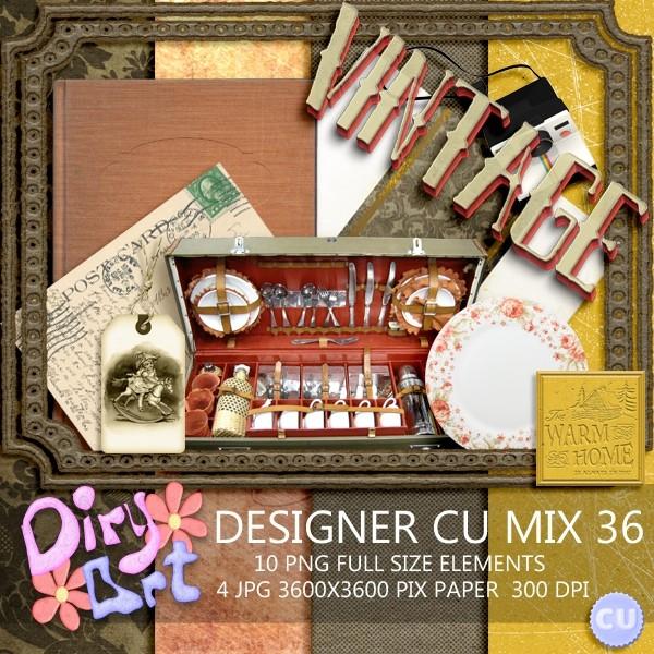 Designer CU Mix 36