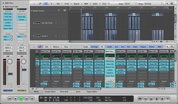 TMP - Logic Pro Templates and Channel Strips