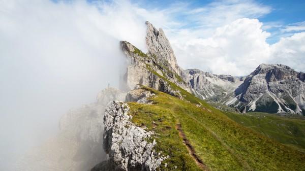 Italian Dolomites Timelapse Stock Footage