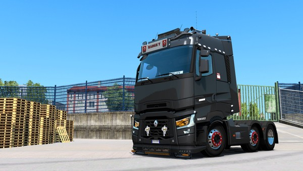 [ETS2 - ADDON] Renault Range T High Sleeper Bottom Tuning Pack