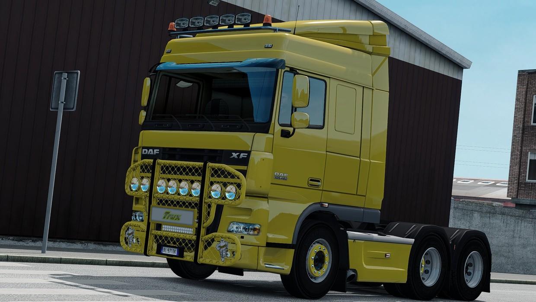 [ETS2 - ADDON] Bullbar Trux HighWay DAF XF105