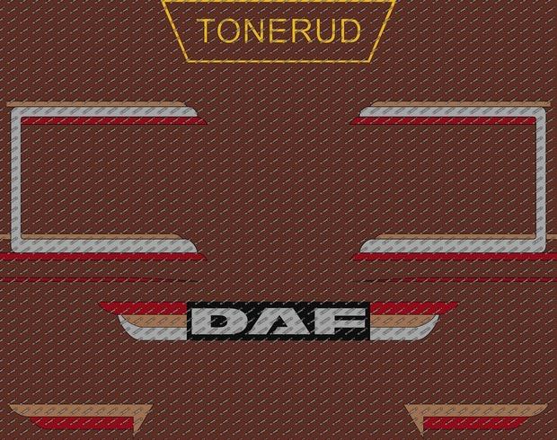 Decals Daf & Scania Tonerud Transport