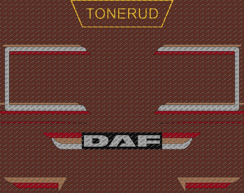 Decals Daf & Scania Tonerud Transport
