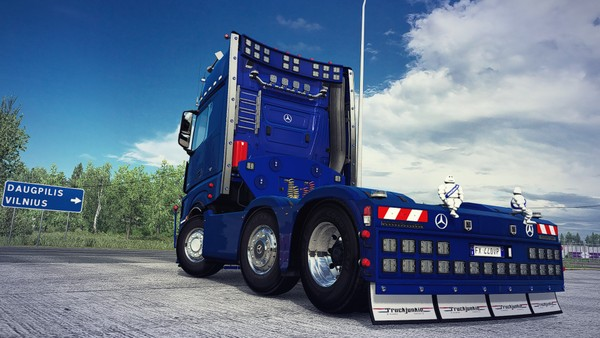 [ETS2 - ADDON] Mercedes-Benz New Actros Rear Bumper
