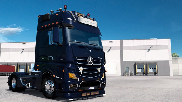 [ETS2 - ADDON] Mercedes-Benz New Actros GigaSpace Bottom Tuning Pack