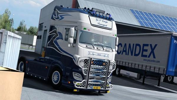 DAF XF E6 SSC G/N Cargo Transport