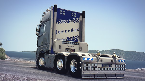 [ETS2 - ADDON] Mercedes-Benz New Actros GigaSpace Backwall