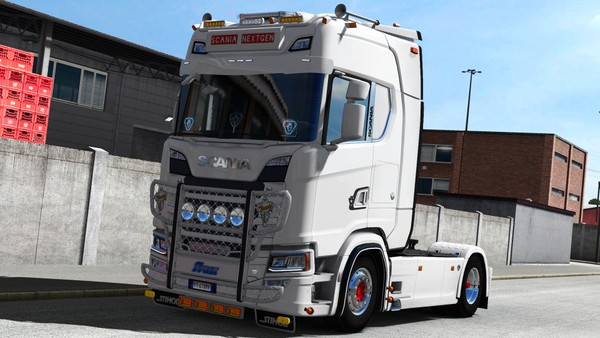 [ETS2 - ADDON] Scania S NextGen High Cabin Roof Tuning Pack