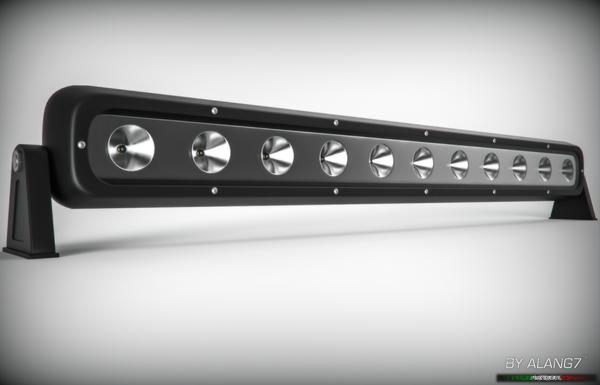 [3D MODEL] LED Light Bar