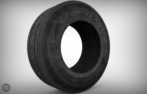 [3D MODEL] GoodYear Front Tyre