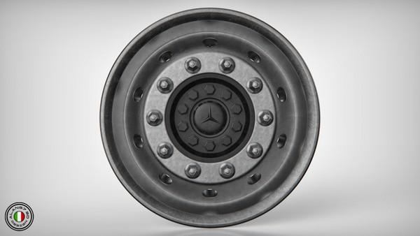 [3D MODEL] Mercedes-Benz Front Rim
