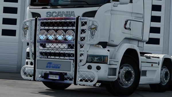[ETS2 - ADDON] Bullbar Trux HighWay Scania R Streamline