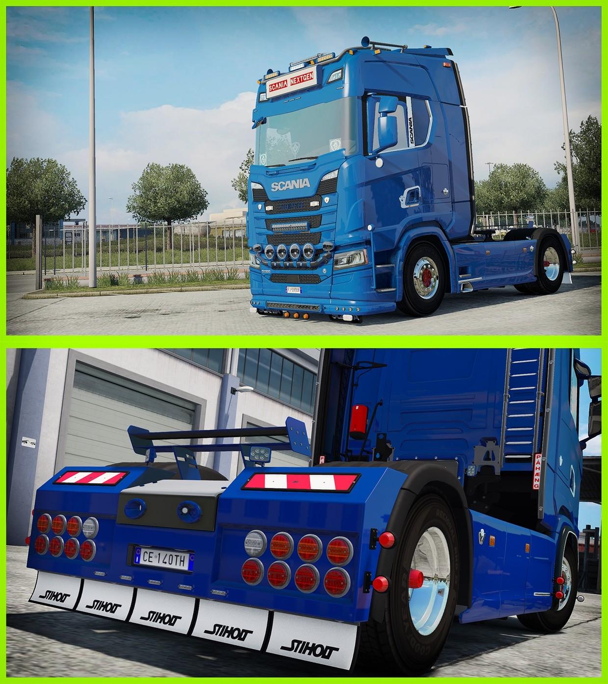 [ETS2 - ADDONS / BUNDLE] Scania NextGen Tuning Pack 2