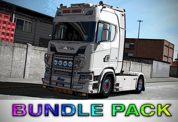 [ETS2 - ADDONS / BUNDLE] Scania NextGen Tuning Pack