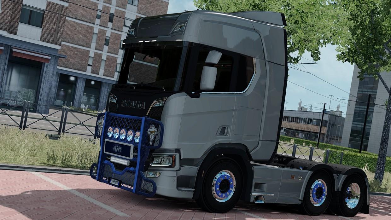 ETS2 ADDON Bullbar Hypro Scania NextGen Alang7 Webshop