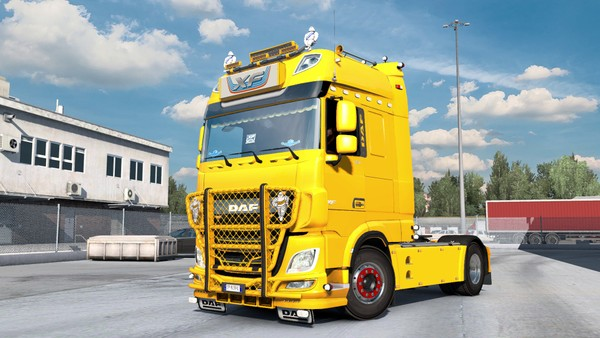 [ETS2 - ADDON] DAF XF Euro 6 Bottom Tuning Pack