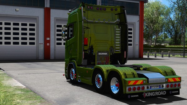 [ETS2 - ADDON] Scania S NextGen High Cabin Rear Tuning Pack