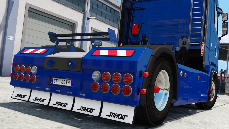 [ETS2 - ADDON] Scania S - R NextGen Rear Bumper V1