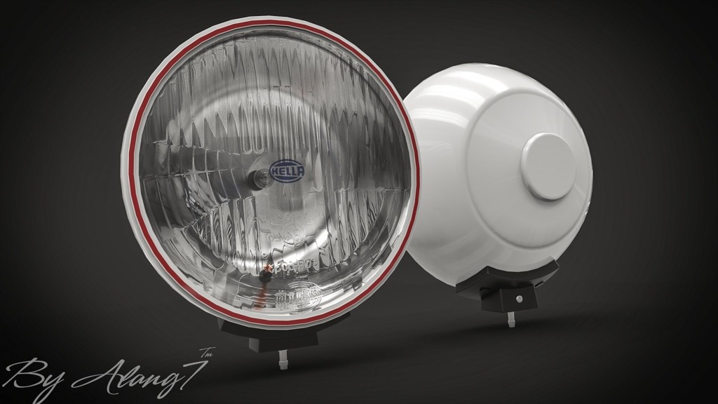 [3D MODEL] Hella Halogen Lamp