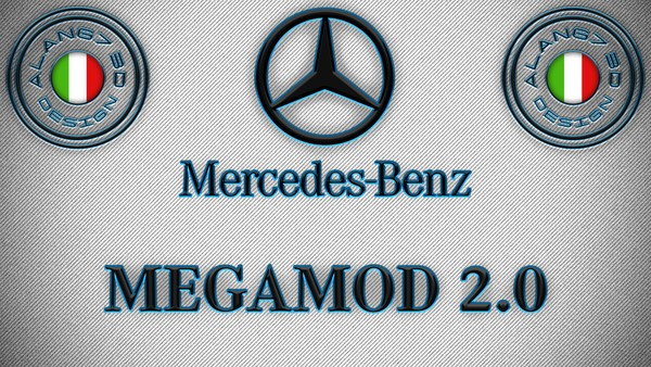 [ETS2 - ADDONS / BUNDLE] Mercedes-Benz New Actros GigaSpace MegaMod 2.0