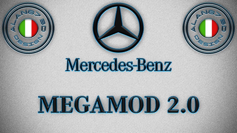 [ETS2 - ADDONS / BUNDLE] Mercedes-Benz New Actros GigaSpace MegaMod 2.0