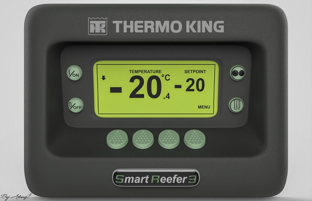 [3D MODEL] Thermo King Smart Reefer 3
