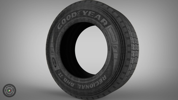 [3D MODEL] GoodYear Rear Tyre