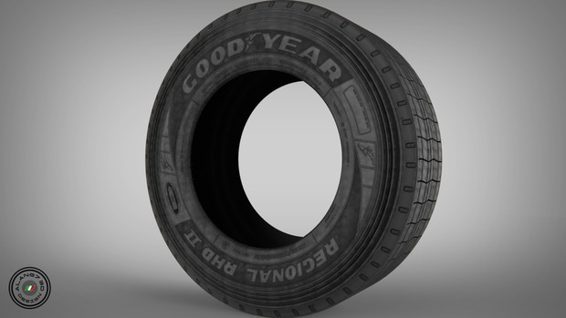 GoodYear Rear Tyre