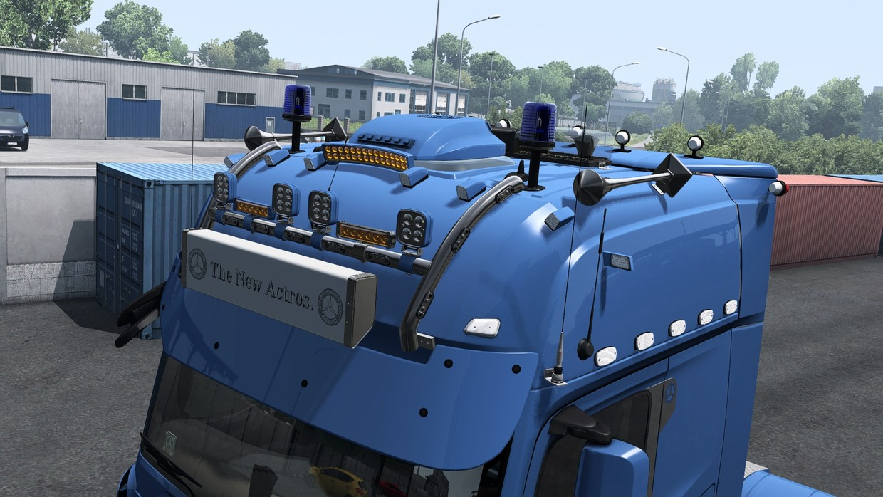 [ETS2 - ADDON] Mercedes-Benz New Actros GigaSpace Roof Tuning Pack