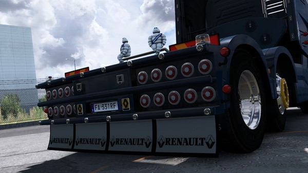 [ETS2 - ADDON] Renault Range T Rear Bumper