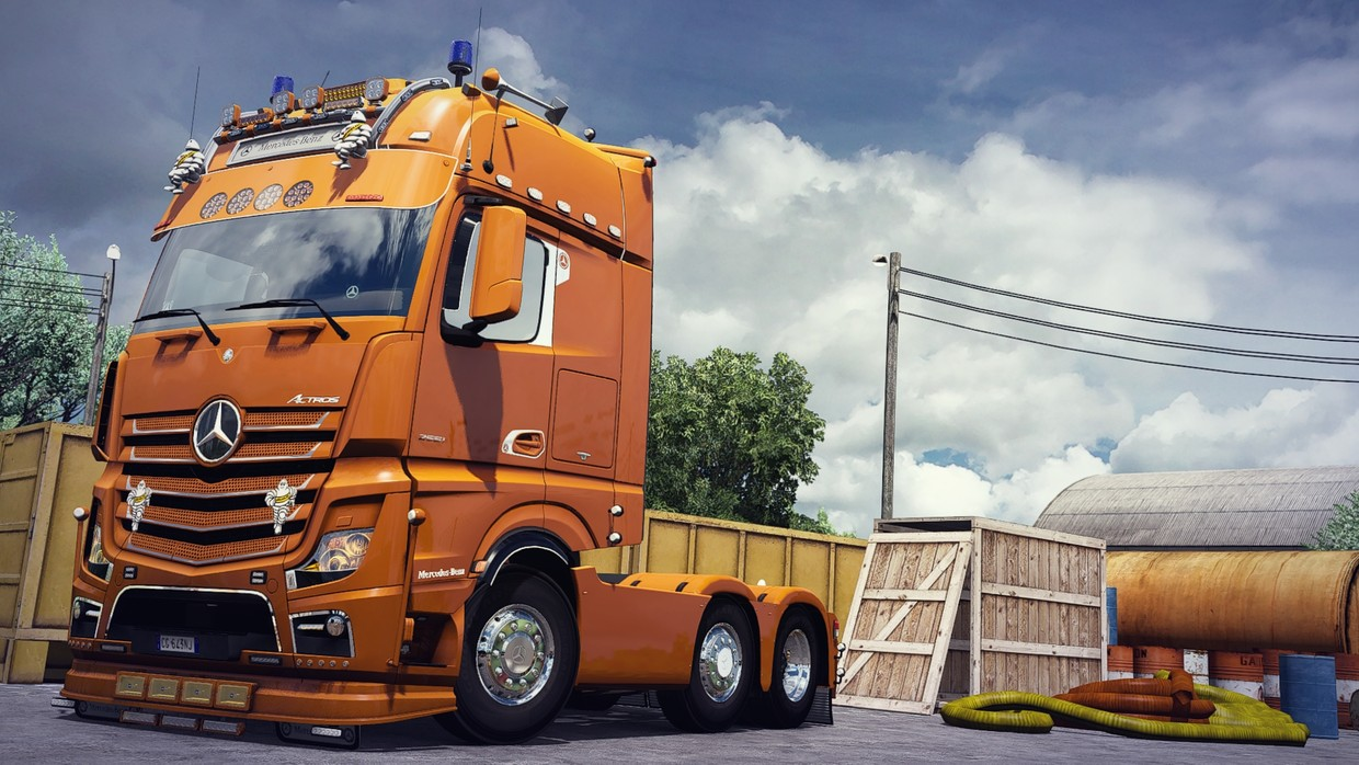 [ETS2 - ADDON] Mercedes-Benz New Actros GigaSpace Visors Pack