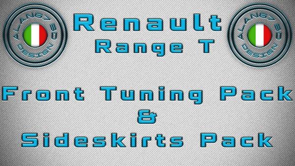 [ETS2 - ADDONS / BUNDLE] Renault Range T Front Tuning Pack & Sideskirts Pack