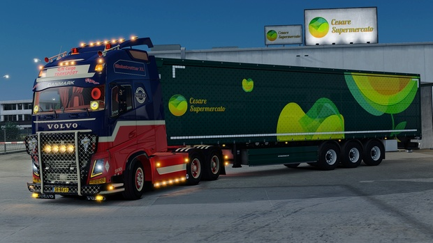 Volvo FH4 6x4 GN Cargo Transport