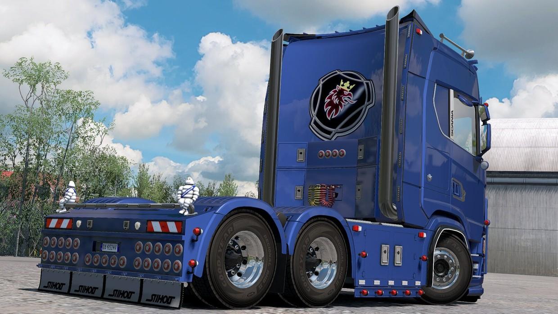 [ETS2 - ADDON] Scania S - R NextGen Rear Bumper V2