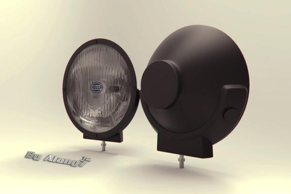 [3D MODEL] Hella Halogen Lamp