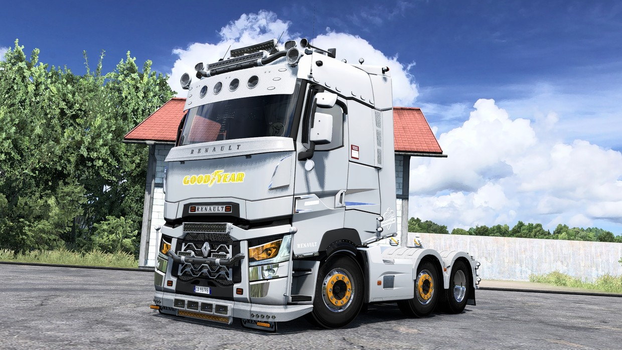 [ETS2 - ADDON] Renault Range T High Sleeper Front Tuning Pack