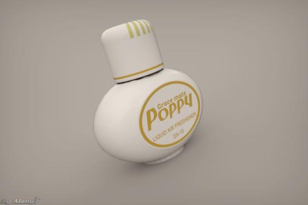 [3D MODEL] Poppy Air Freshener