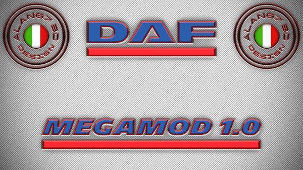 [ETS2 - ADDONS / BUNDLE] DAF XF Euro 6 Super Space Cab MegaMod 1.0