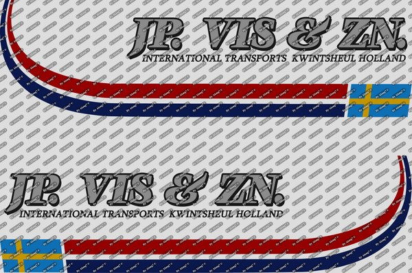 Decals JP. Vis & ZN