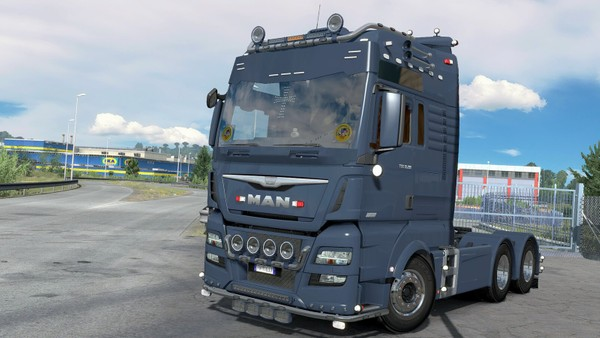 [ETS2 - ADDON] MAN TGX XXL Euro 6 Front Tuning Pack