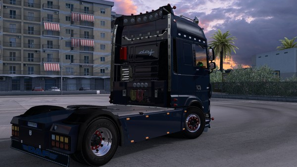 [ETS2 - ADDON] DAF XF Euro 6 Super Space Cab Rear Tuning Pack