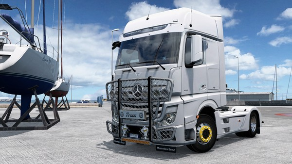 [ETS2 - ADDON] Trux HighWay For Mercedes-Benz New Actros