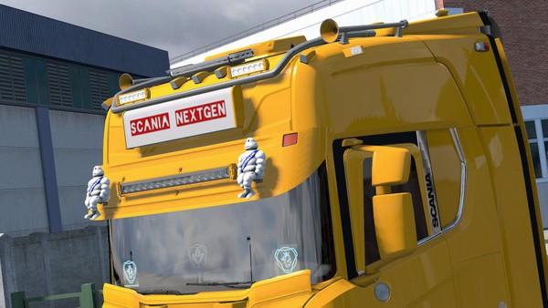 [ETS2 - ADDON] Scania NextGen S / R Visors Pack V2