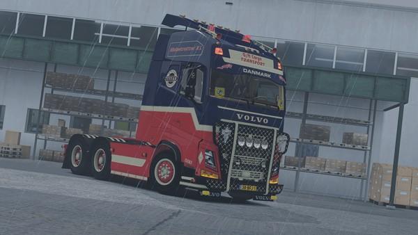 Volvo FH4 6x4 GN Cargo Transport