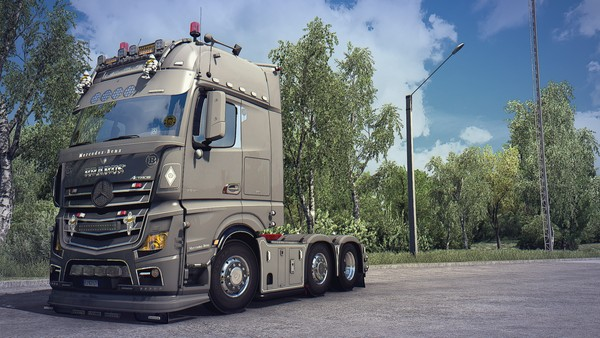 [ETS2 - ADDON] Mercedes-Benz New Actros Sideskirts Pack