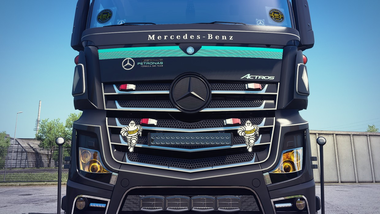 [ETS2 - ADDON] Mercedes-Benz New Actros GigaSpace Front Tuning Pack