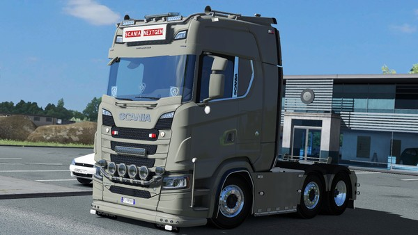 [ETS2 - ADDON] Scania NextGen S / R Sideskirts Pack