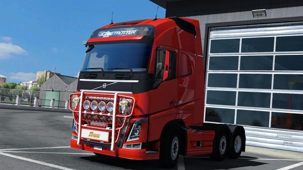 [ETS2 - ADDON] Bullbar Trux OffRoad Volvo FH4
